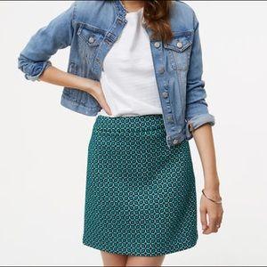 Loft Tiled Jacquard Mini Skirt
